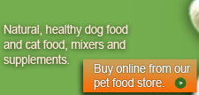 Shop online for healthy pet food